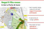Percorso Mountain Bike al parco Porto di Mare di Milano